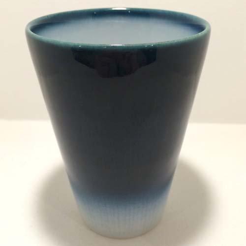【砥部焼】ヨシュア工房 フリーカップ YB(ヨシュアブルー)