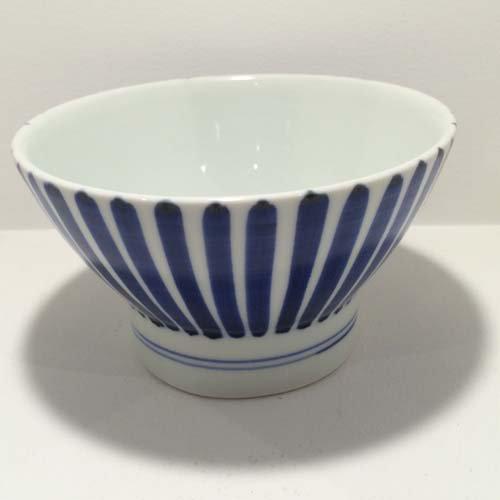【砥部焼】千山窯 くらわんか茶碗(中) 十草