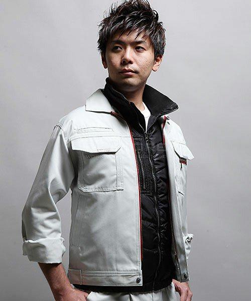 【tASkfoRce】中綿エンボスベスト 01099「防寒ベスト」のカラー10