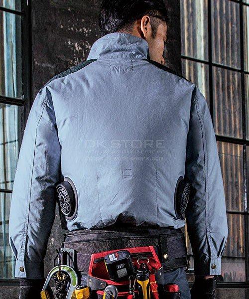 【サンエス】空調風神服KU93500 ブルゾン単品「空調服」のカラー8