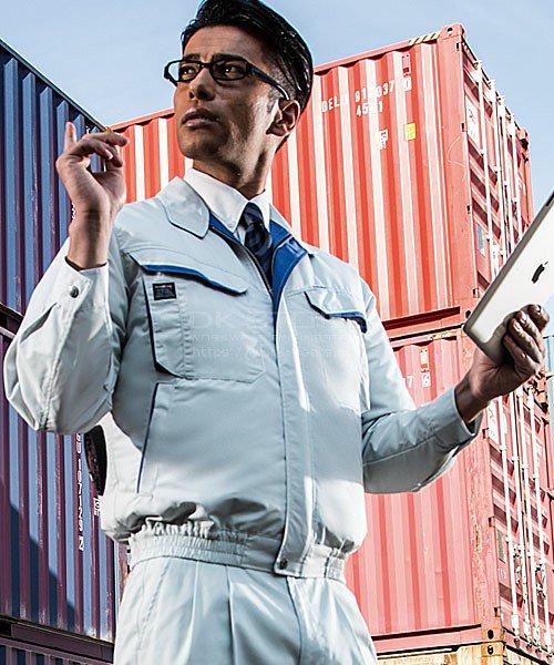 【サンエス】空調風神服KU90480 フード付長袖ブルゾン単品「空調服」のカラー7