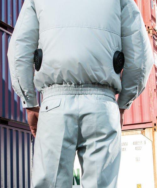 【サンエス】空調風神服KU90480 フード付長袖ブルゾン単品「空調服」のカラー8