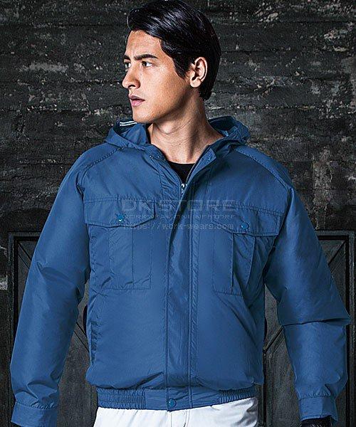 【サンエス】空調風神服KU90810 フード付長袖ブルゾン単品「空調服」のカラー8