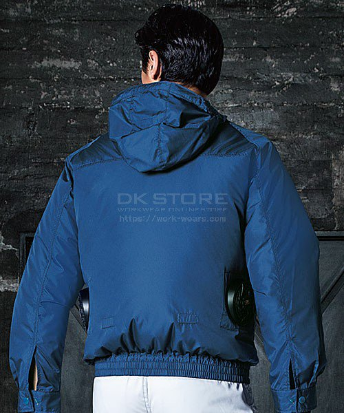 【サンエス】空調風神服KU90810 フード付長袖ブルゾン単品「空調服」のカラー9