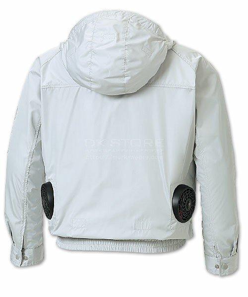 【サンエス】空調風神服KU90800 チタン加工フード付長袖ブルゾン単品「空調服」のカラー4