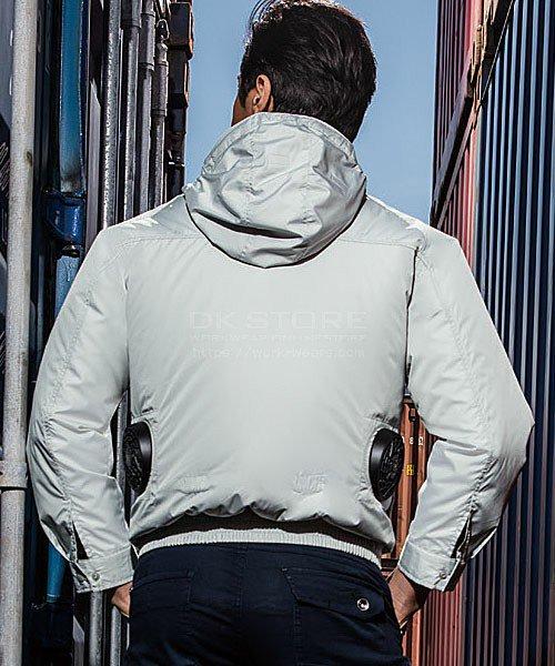【サンエス】空調風神服KU90800 チタン加工フード付長袖ブルゾン単品「空調服」のカラー8