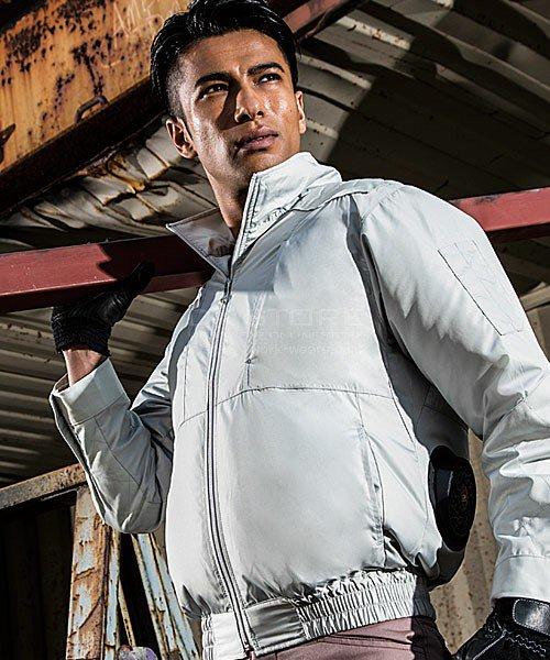 【サンエス】空調風神服KU92200 チタン加工肩パッド付長袖ブルゾン単品「空調服」のカラー15