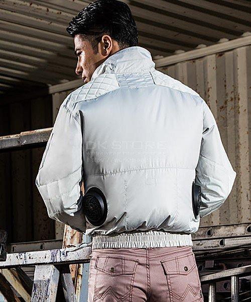【サンエス】空調風神服KU92200 チタン加工肩パッド付長袖ブルゾン単品「空調服」のカラー16