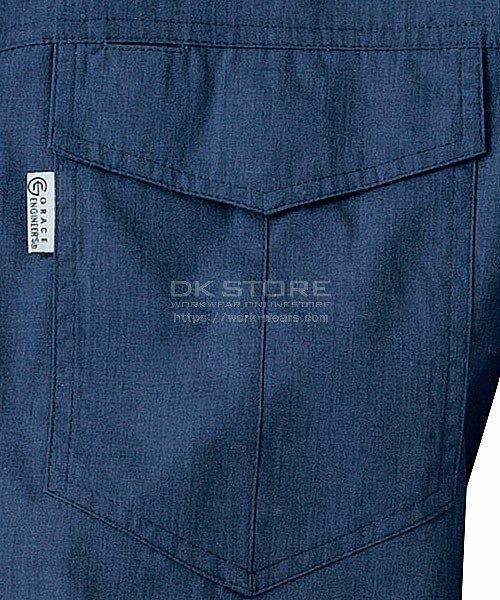 【グレースエンジニアーズ】GE-147「長袖つなぎ」のカラー6