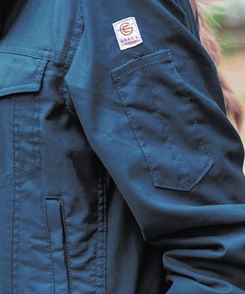 【グレースエンジニアーズ】GE-200「レディース長袖つなぎ」のカラー16