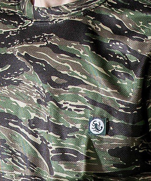 【tASkfoRce】06589「迷彩半袖Tシャツ」のカラー8