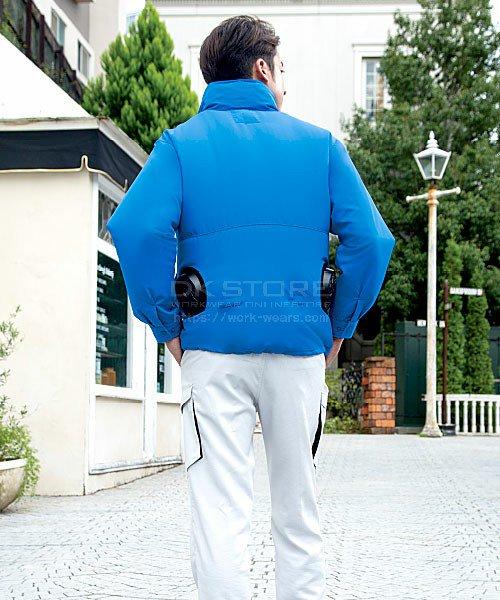 【サンエス】空調風神服KU90520S フード付スタッフジャンパー「空調服」のカラー8