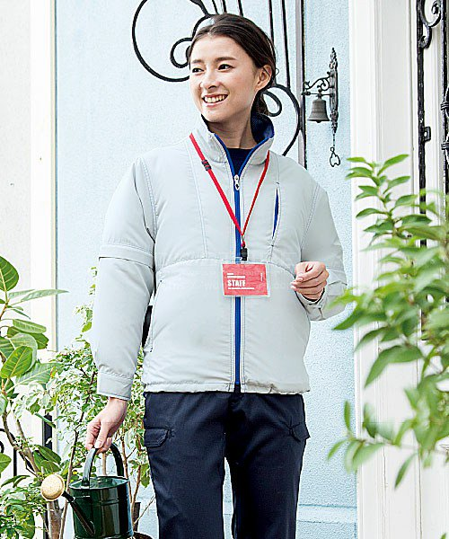 【サンエス】空調風神服KU91620 袖取り外し長袖ブルゾン「空調服」のカラー5