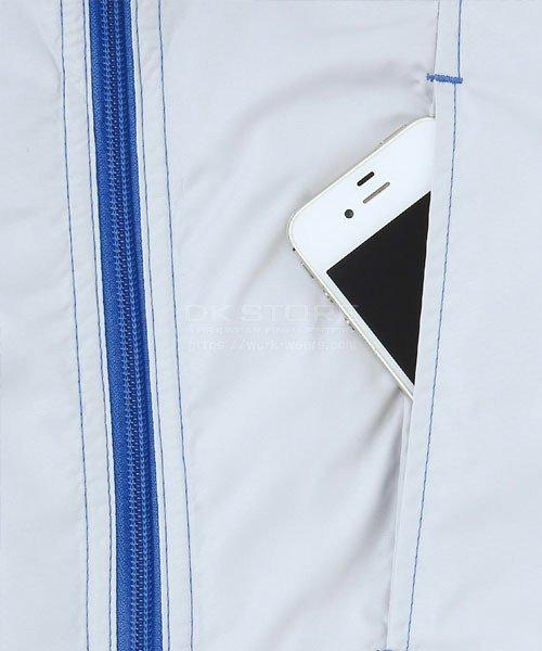 【サンエス】空調風神服KU91620 袖取り外し長袖ブルゾン「空調服」のカラー9