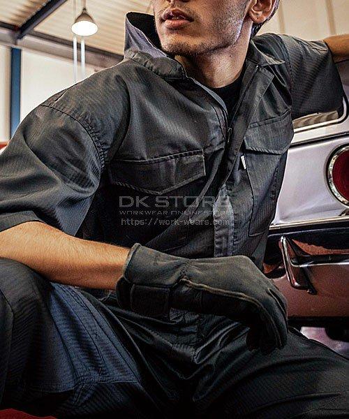 【グレースエンジニアーズ】GE-525「半袖つなぎ」のカラー13
