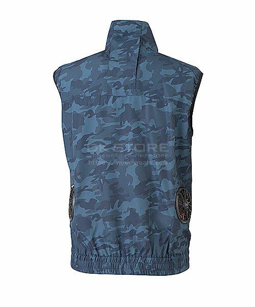 【サンエス】Kansai×空調風神服K1009 カモフラ空調ベスト単品「空調服」のカラー5
