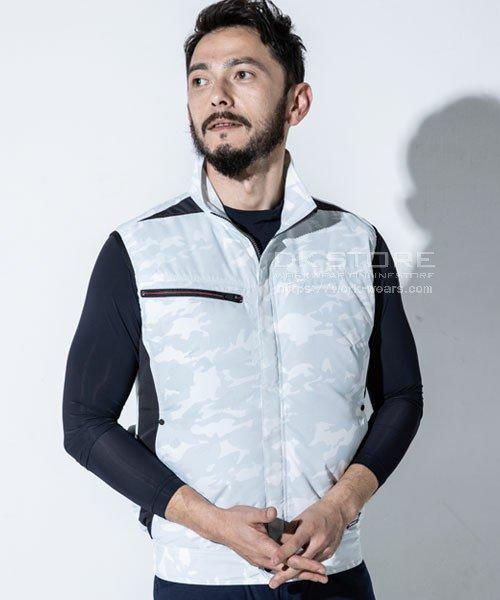 【サンエス】Kansai×空調風神服K1009 カモフラ空調ベスト単品「空調服」のカラー6