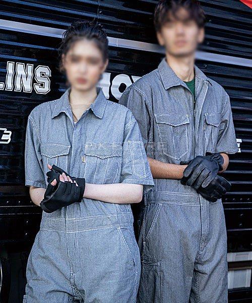 【グレースエンジニアーズ】GE-585「半袖つなぎ」のカラー8
