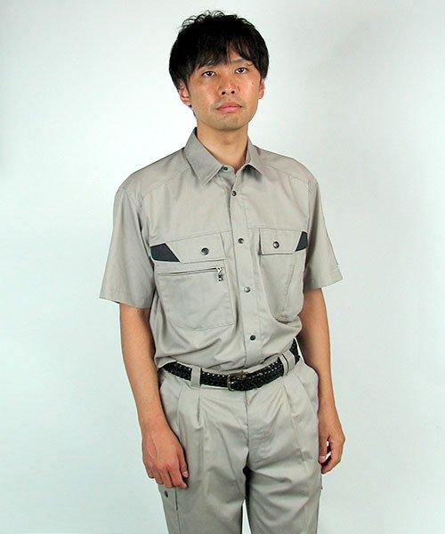 【DAIRIKI】D1-18003「半袖シャツ」のカラー17