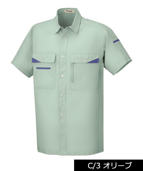 【DAIRIKI】MAX700(07003)「半袖シャツ」のカラー4