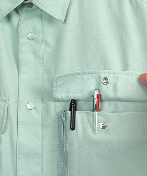【DAIRIKI】MAX700(07003)「半袖シャツ」のカラー7