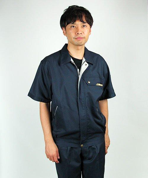 【カンサイユニフォーム】K70501「半袖ブルゾン」のカラー15