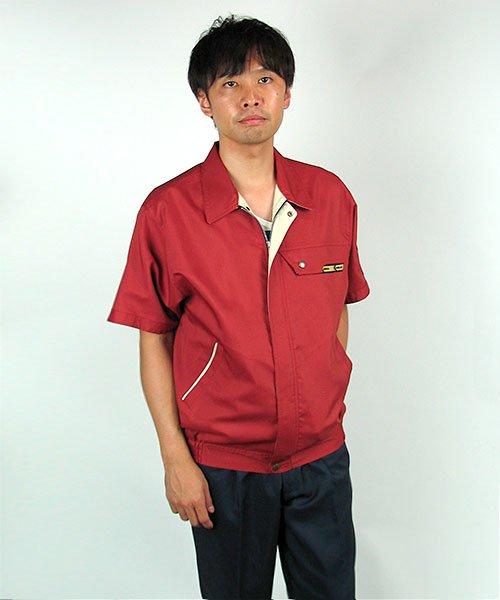 【カンサイユニフォーム】K70501「半袖ブルゾン」のカラー19
