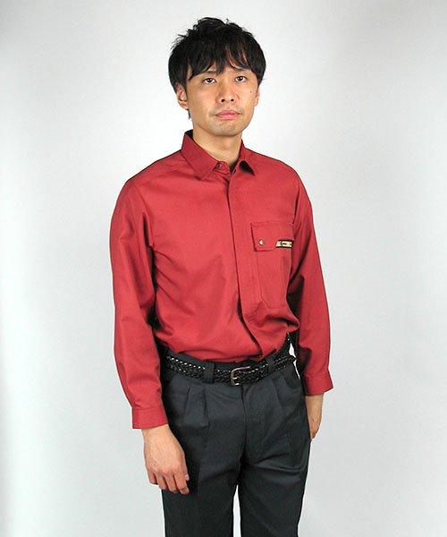 【カンサイユニフォーム】K70504「長袖シャツ」のカラー15