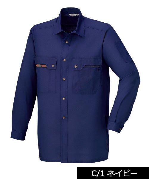 【カンサイユニフォーム】K30204「長袖シャツ」のカラー2