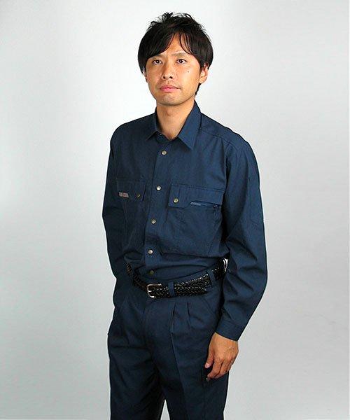 【カンサイユニフォーム】K30204「長袖シャツ」のカラー15