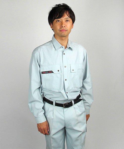 【カンサイユニフォーム】K30204「長袖シャツ」のカラー17