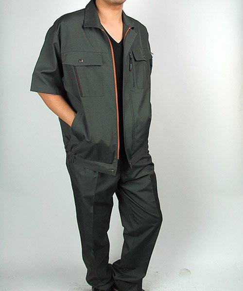 【カンサイユニフォーム】K40401「半袖ブルゾン」のカラー15