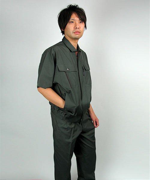 【カンサイユニフォーム】K40401「半袖ブルゾン」のカラー16