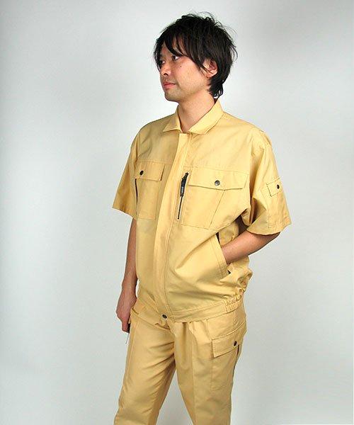 【カンサイユニフォーム】K40401「半袖ブルゾン」のカラー18