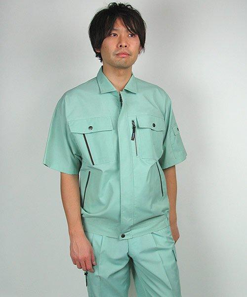 【カンサイユニフォーム】K40401「半袖ブルゾン」のカラー19