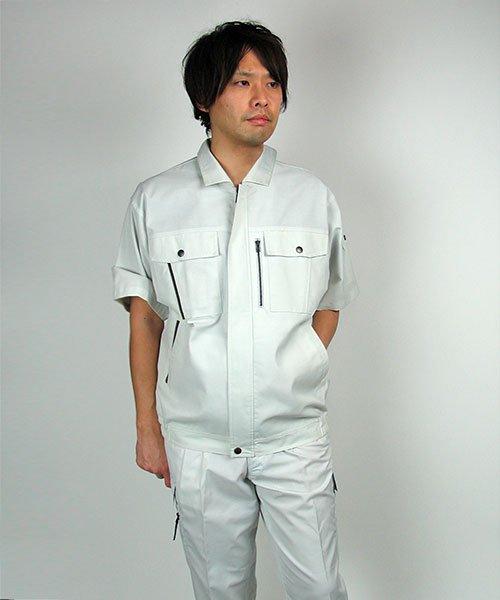 【カンサイユニフォーム】K40401「半袖ブルゾン」のカラー20
