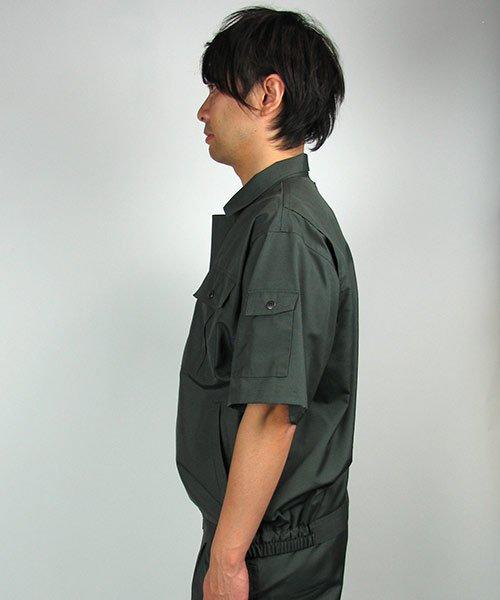 【カンサイユニフォーム】K40401「半袖ブルゾン」のカラー21