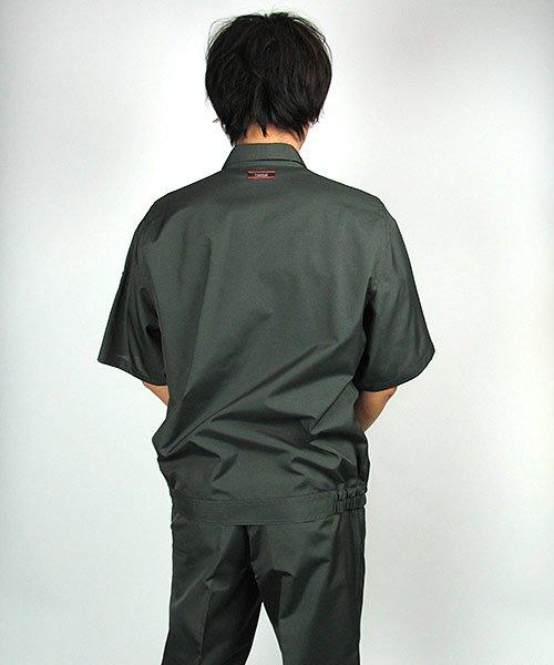 【カンサイユニフォーム】K40401「半袖ブルゾン」のカラー22