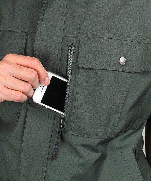 【カンサイユニフォーム】K40401「半袖ブルゾン」のカラー10
