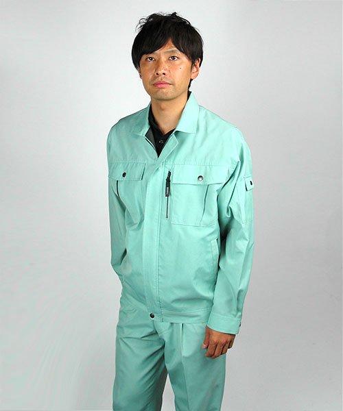 【カンサイユニフォーム】K40402「長袖ブルゾン」のカラー17