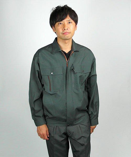 【カンサイユニフォーム】K40402「長袖ブルゾン」のカラー18