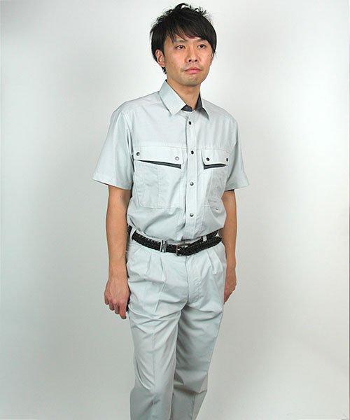 【カンサイユニフォーム】K4002(40023)「半袖シャツ」のカラー12