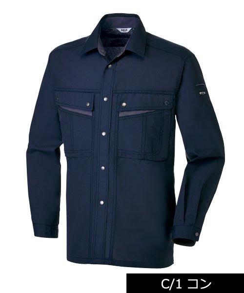 【カンサイユニフォーム】K4003(40034)「長袖シャツ」のカラー2