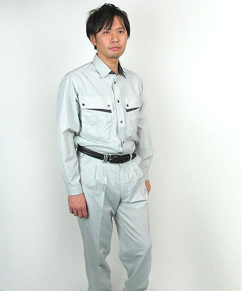 【カンサイユニフォーム】K4003(40034)「長袖シャツ」のカラー12