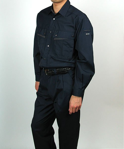 【カンサイユニフォーム】K4003(40034)「長袖シャツ」のカラー15