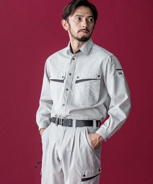 【カンサイユニフォーム】K4003(40034)「長袖シャツ」のカラー16