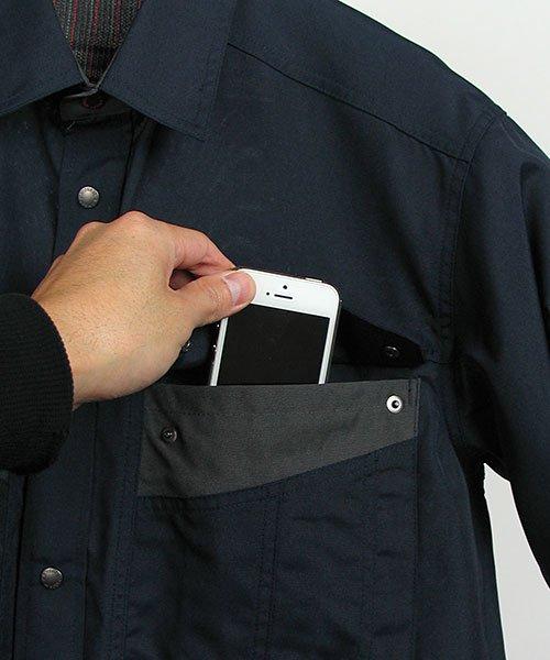 【カンサイユニフォーム】K4003(40034)「長袖シャツ」のカラー6