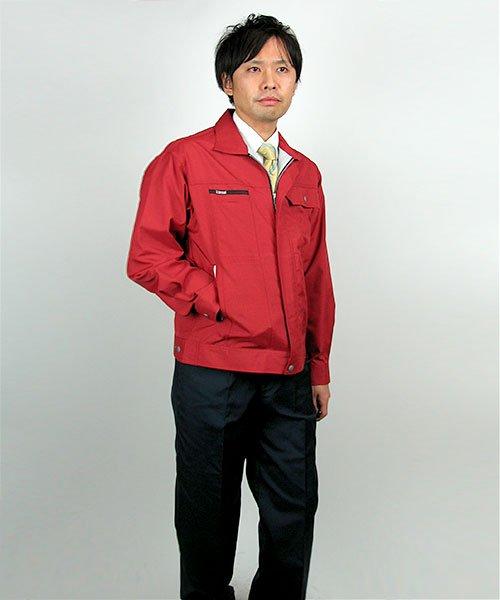 【カンサイユニフォーム】K7001(70012)「長袖ブルゾン」のカラー23