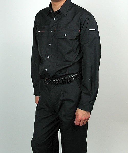 【カンサイユニフォーム】K7003(70034)「長袖シャツ」のカラー18