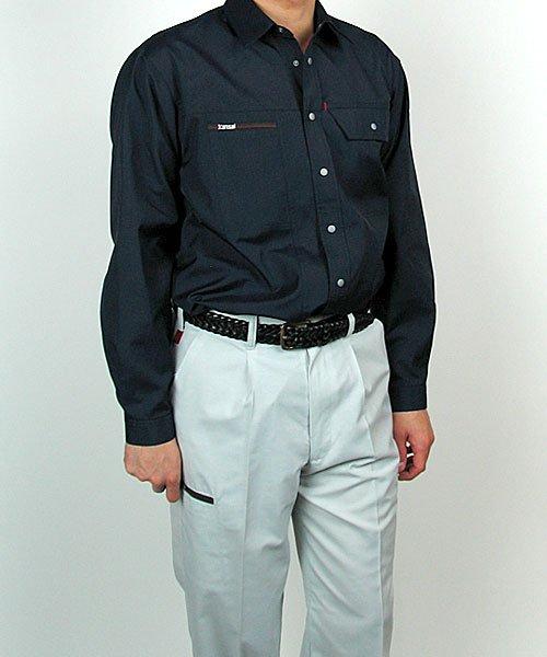 【カンサイユニフォーム】K7003(70034)「長袖シャツ」のカラー19